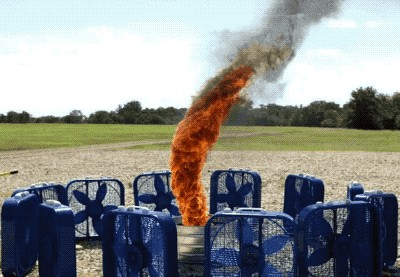 Slow Motion 06 14 20 GIF 01 fire tornado fans AWESOME 55 Everything's cooler in SLOW motion (22 GIFs)