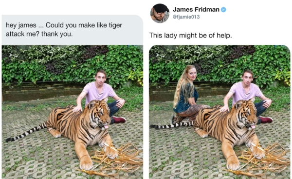 Twitter PhotoShop Troll @fjamie013 Recreates Hilarious Pictures Humor 11 Everyones favorite Photoshop troll is at it again (30 Photos)