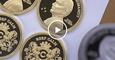 A look at the newly minted Bill Murray Coin collection (Video)