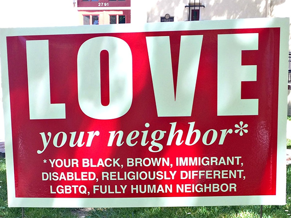 love your neighbor 3 photos 2 A statement from theCHIVE (4 Photos)
