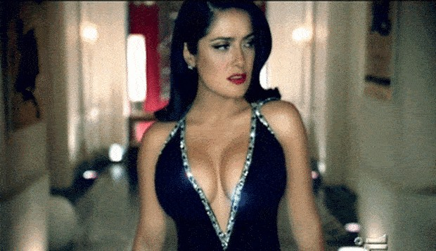 a tribute to salma hayek hall of fame babe 20 gifs 14 4 A tribute to Salma Hayek, hall of fame babe (20 GIFs)