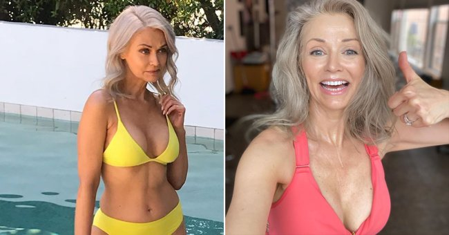 kathy jacobs is a 56 year old swimsuit model x photos 1 Kathy Jacobs debuts as a Sports Illustrated Swimsuit model at 56! (17 Photos)