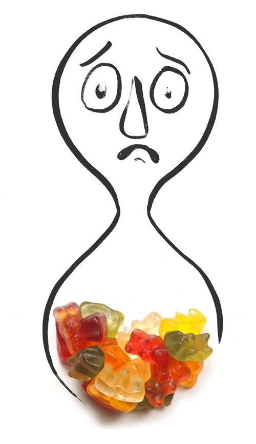 never steal another mans sugar free gummy bears ever 1 11 Never steal another mans sugar free gummy bears...EVER