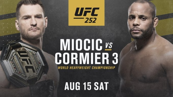 3391039 3 Cormier seeks to reclaim heavyweight belt from Miocic tonight at UFC 252