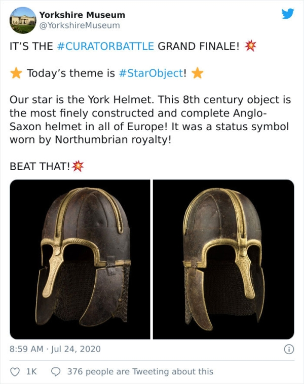 Museums On Twitter Share Their Most Valuable Artificats Humanity Interesting History 30 Museums battle over who has the most bada** artifacts in their possession (33 Photos)