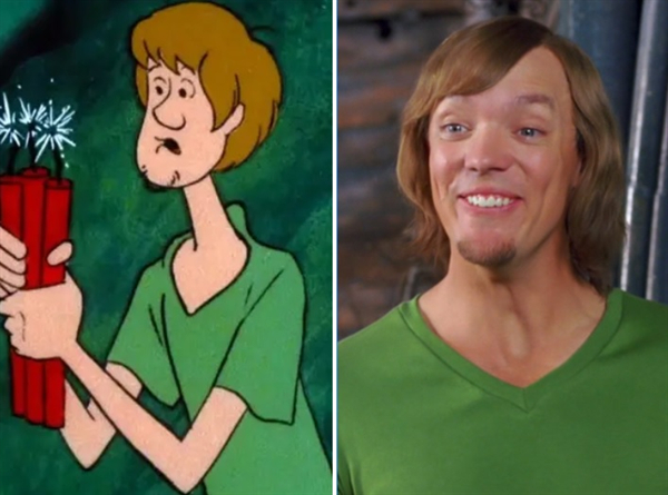awesome live action actors vs their animated counterparts 20 photos 7 Awesome live actors & their animated counterparts (20 Photos)