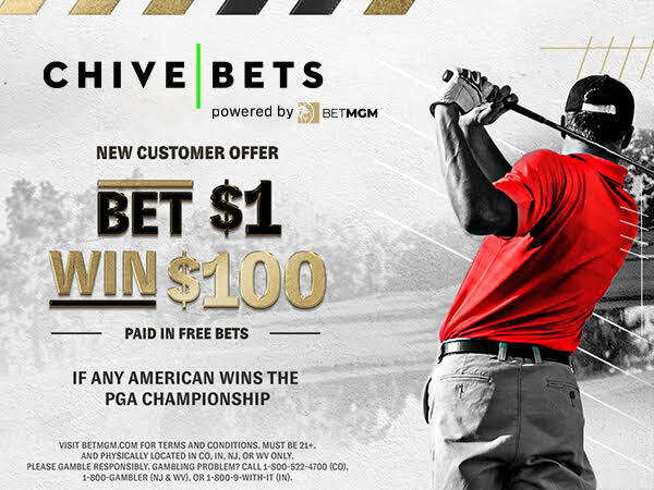unnamed 11 Bet $1, win $100    any American to win the PGA Championship