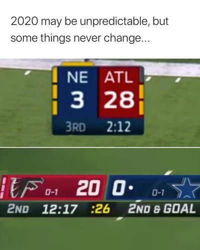35 photos 1 Leather bound NFL memes from Week 2 are jokes... just like the Falcons (35 Photos)