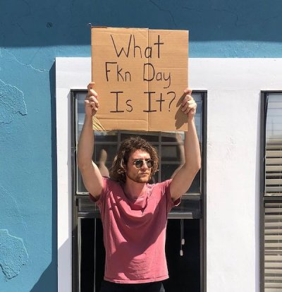 dudewithsign 91168715 660635704746740 5925897193698330105 n We could all use a little more Dude with sign in our lives (25 Photos)