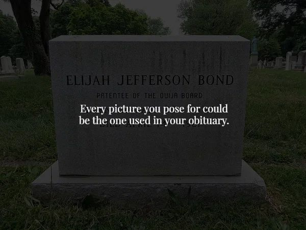 elijah jefferson bond gravestone front detail Bask in the darkness of Creepy Facts (18 Photos)