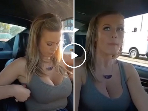 Hot Roddin' hottie really shifts our gears (Video)