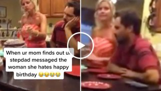 Insane wife punishes husband for wishing another woman 'Happy Birthday' (Video)