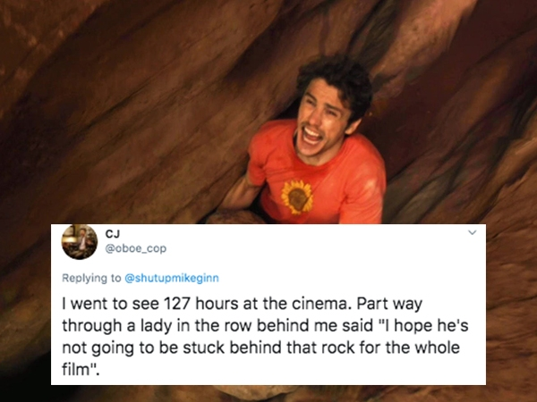 the dumbest things ever overheard at a movie theater 25 photos 1 The dumbest things ever overheard at a movie theater (25 Photos)