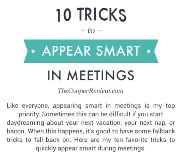 Funny And Satirical Tips And Tricks For Work And The Office Humor Funny Pictures Memes 0 60% of the time, these tips work every time (36 Photos)