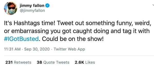 """I Got Busted Jimmy Fallon Tweets25 People share their best """"I got busted"""" stories (34 Photos and GIFs)"""