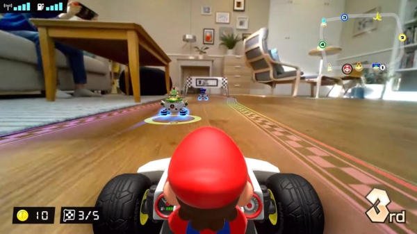Mario Kart Live Home Circuit And Cats Humor Entertainment Video Games 3 House cats are losing their sh*t over the new Mario Kart game