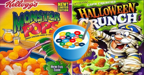 Halloween themed cereal to rot your teeth out (22 Photos)