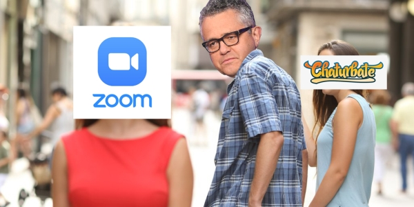 toobin distracted boyfriend Reporter accidentally masturbates on live Zoom call, and 2020 just keeps giving