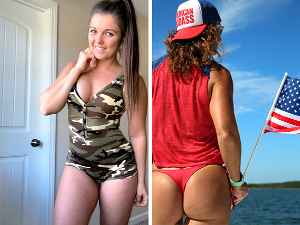 Standing at attention for Sexy Girls  saluting our Vets (100 Photos)