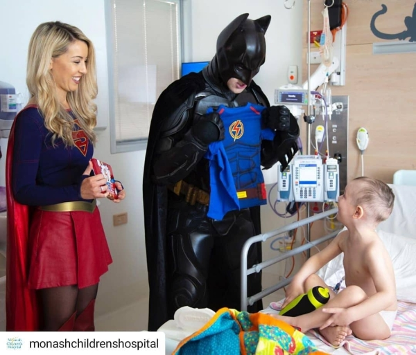 Kids Battling Cancer Are Getting The Superhero Suits They Deserve From Supertee Humanity Heartwarming Heroes 18 Every superhero needs a suit especially these brave kids battling cancer