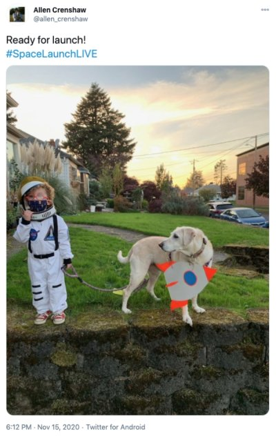 Twitter Users React To NASAs SpaceX Crew 1 Launch Humanity Interesting Awesome Mind Blowing Science Space 22 The country reacts to NASAs SpaceX Crew 1 launch (30 Photos)