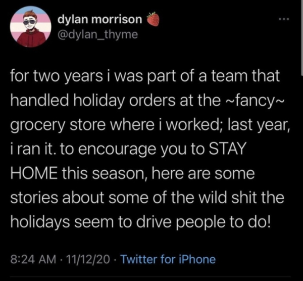 grocery store manager shares the craziest things holiday shoppers have done 1 Grocery store manager shares the craziest things holiday shoppers have done (21 photos)