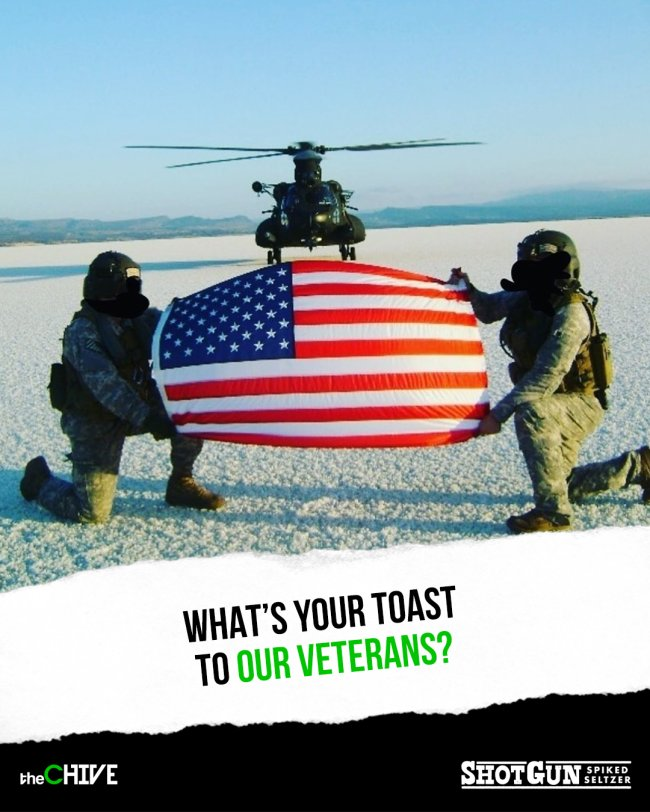 lets give a toast to our heroes for veterans day 18 photos 8 Lets give a toast to our heroes for Veterans Day! (18 Photos)