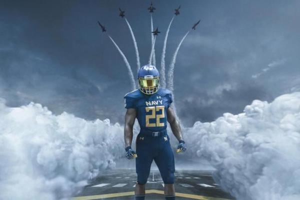 navy angels uniform 1 1200 1 Professional athletes to honor on Veterans Day (19 Photos)