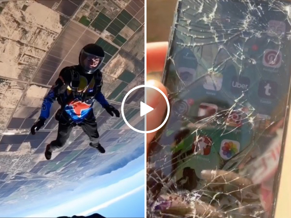 We might know a guy who can replace that screen for ya (Video)