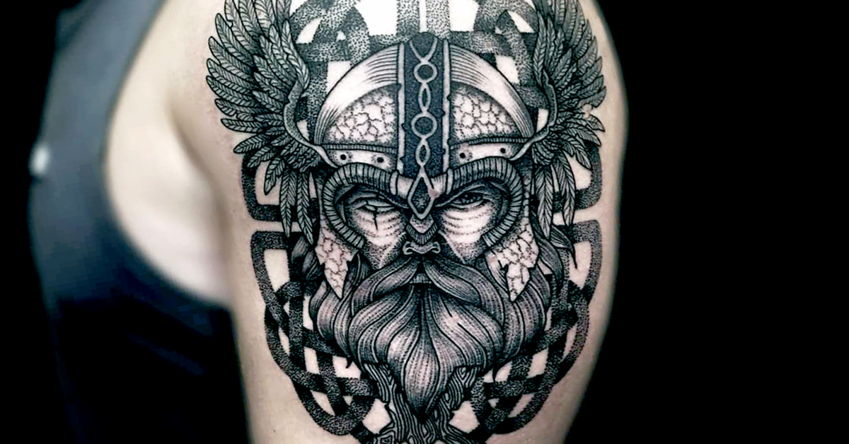 By just Odin's beard, these Nordic and Viking tattoos usually are bada** [PART 2] (38 Photos)