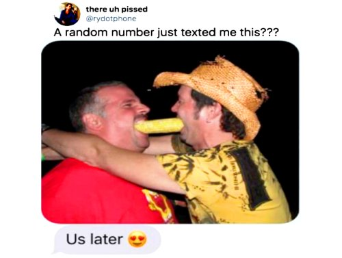 Something about these texts tells me they had the wrong number (34 Photos)