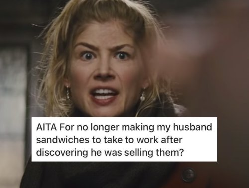 Wife finds out husband is selling her sandwiches at work without telling her (14 Photos and GIFs)