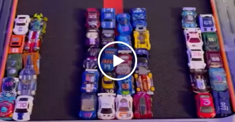 Hot Wheels Treadmill Championship Racing (VIDEO)