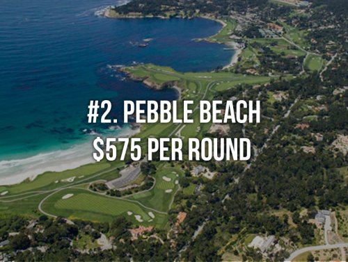 Top 10 most expensive PGA Tour venues that you can actually play (12 Photos)