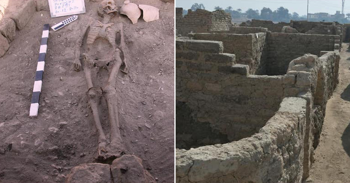 "3,400-year-old ""lost golden city"" discovered in Egypt (8 Photos)"