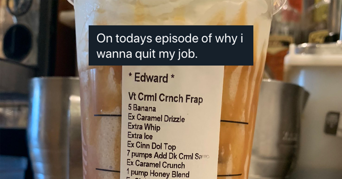 Baristas share the downright ridiculous drinks they