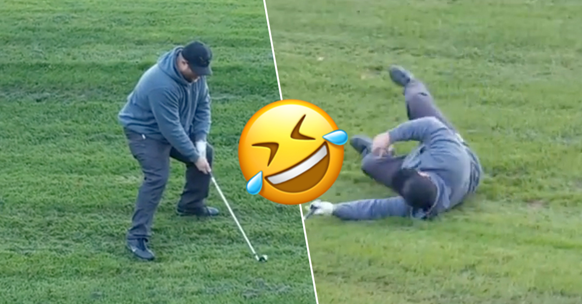 FORE! Golf fails coming in popular (17 GIFs)