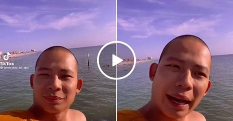 Buddhist Monk has simple, sage advice on forgiveness (Video)