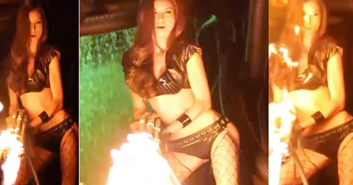 A great time can be had with a FLAMETHROWER