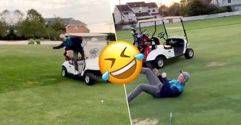 We'd rather be golfing, but these 'Golf Fails' will do