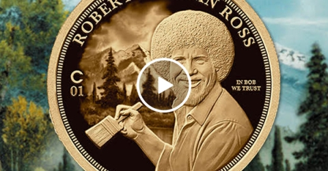 The making of history's first-ever Bob Ross Coin