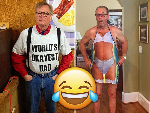 Dad fashion is… A beast of its own (25 Photos)